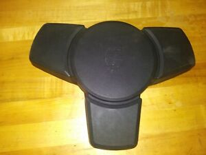 1983 Porsche 911 Steering Wheel Center Horn Pad Oem Black Fits 928 930 944 Turbo