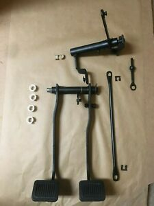 1976 Or 77 Dodge Ram D250 Oem Clutch Brake Pedal Assembly W Z Bar Brackets