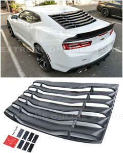 For 16 Up Chevrolet Camaro Coupe Abs Plastic Rear Window Louver Sun Shade Cover