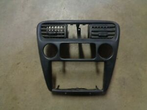 98 99 00 Honda Accord Heater Climate Control Center Dash Bezel