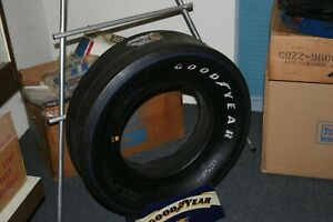 Nos Vintage Goodyear Blue Streak 7 00 7 50 X 14 Drag Slicks Original Stickers