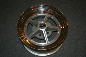 Nos Vintage K H Magstar Wheel 15x7 1967 Shelby Mustang Very Mint Condition
