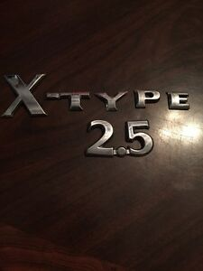 02 03 04 05 06 07 08 Jaguar X Type 2 5 Rear Emblem Logo Badge Sign Symbol 03