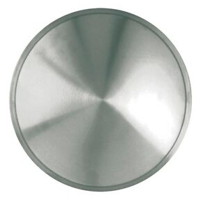 Racing Disc Full Moon Hubcap 15 Inch Stainless Steel 15 New Single