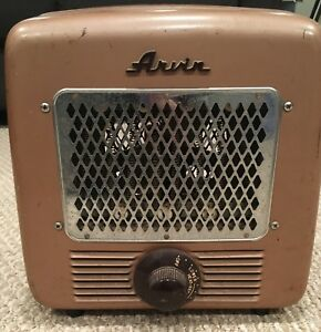 Vintage Midcentury Space Heater Electric Arvin Model 5518 Works Read Descrip