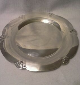 W M Rogers Slotted Silverplated Serving Dish 621
