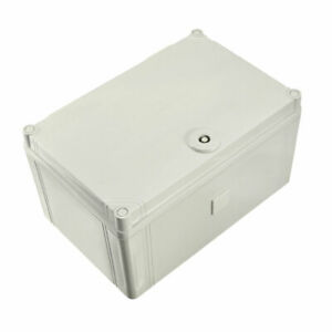 300x200x165mm Ip66 Abs Waterproof Plastic Electric Diy Box Latched Junction Box