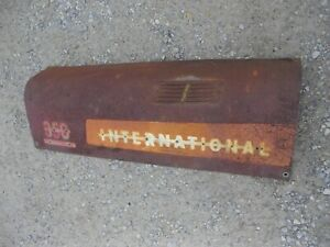 International 300 350 Utility Tractor Orignal Ih Front L Hood Cover Panel Engine