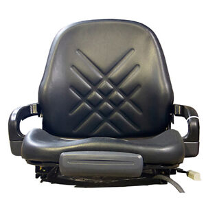 Premium Integrated Suspension Seat Fits Skid Steer Loaders Utility Tractors