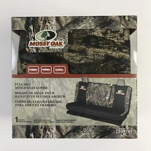 Mossy Oak Break Up Country Bench Truck Seat Cover Full Size Dirt Resistant New