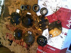 International Cub 154 Low Tractor 10 Ih Cover Covers Bearings Caps Parts Pieces