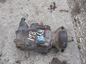 Ford 861 Tractor Original Hydraulic Pump Assembly W Good Drive Gear