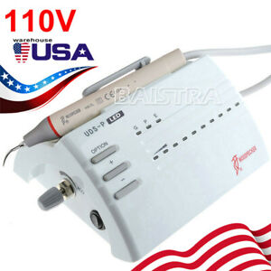 Usa 100 Original Woodpecker Dental Ultrasonic Piezo Scaler Uds p Led Handpiece