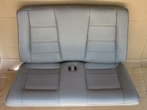 99 04 Mustang Convertible Gray Leather Rear Seat Oem Gt Base