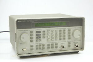 Hp 8647a Synthesized Signal Generator 250 Khz 1000 Mhz H03