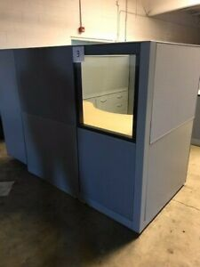 9 Office Cubicles Lot Of 9 Cubicle Configurations Free Local Delivery