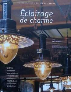 French Book Guide Lighting Luminaire Antique Art Deco 50s Lamp Chandelier