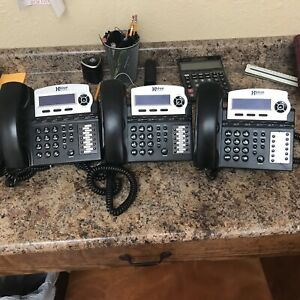 Xblue Networks X16 System Bundle With 3 Phones Used