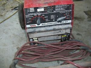 Lincoln Weldan Power 225 G7 Ac dc Welder Generator