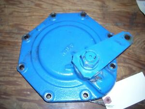 Ford 1715 Tractor Lh Brake Cover W Cam Lever Sba328200420