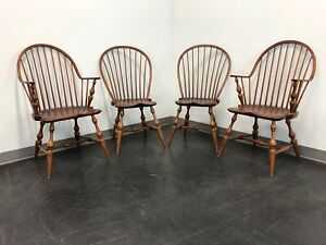 Dr Dimes Loop Back Windsor Dining Chairs Set Of 4