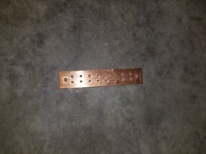 Copper Ground Bar 10 X 2