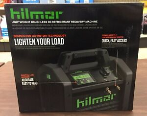 Hilmor Lightweight Brushless Dc Refrigerant Recovery Machine 1950536