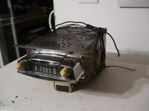 Rat Rod Radio Good Working Ford Chevy Dodge Truck 32 34 36 46 48 50 52 54 56 58