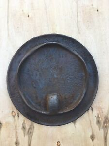 Antique Cast Iron Stove Lid For Coal Wood Burning Cook Stove 8 3 16 Inch