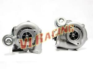 Upgrade Bolt On Twin Turbo Charger 600hp For 90 96 Nissan 300zx Z32 Vg30dett T28