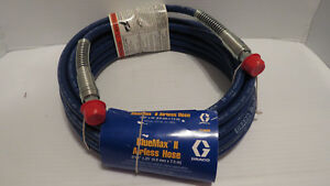Brand New Graco Bluemax Ii Airless Paint Sprayer Hose 3 16 X 25 214698 Oem