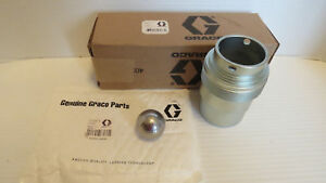New Graco 207473 Intake Valve Housing 45 1 King Gh733 20 1 Bulldog bearing Oem