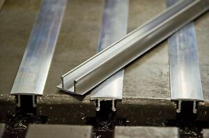 Cnc Or Conventional Mill 625 Extruded Aluminum T slot Cover Set 3 Sticks