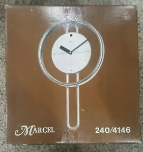 Vintage Mid Century Modern Marcel Wall Clock 240 Of 4146 Ever Made