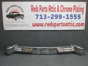 1951 Mercury Rear Bumper Refurbished To A Show Car Finish fresh Chrome