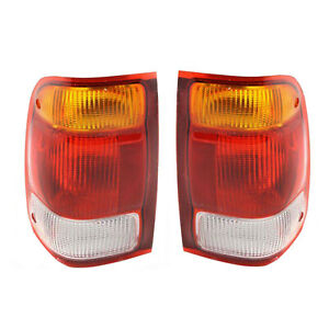 New Pair Of Tail Lights Fit Ford Ranger 1998 1999 F87z13404ba F87z 13404 ba