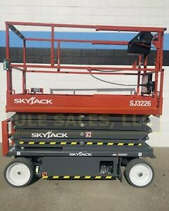 2020 Skyjack Sj3226 Electric Scissor Lift