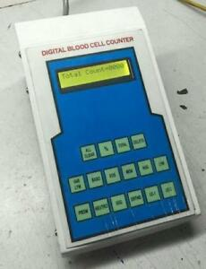 Digital Blood Cell Counter With 12 Operating Keys medical Lab Equipment