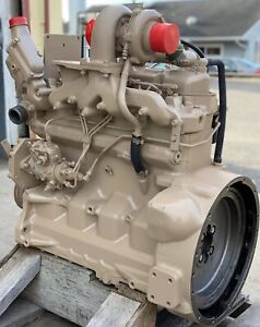 4045 4045t John Deere Diesel Industrial Engine Running Tested 5 500 4045tf001