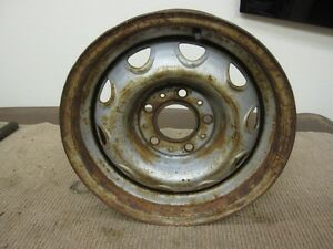 Mopar Rally Wheel 14 X 5 1 2 5 On 4 1 2 Bolt Pattern D2585