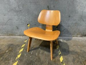 Herman Miller Eames Lcw Molded Plywood Chair White Ash Mid Century Modern