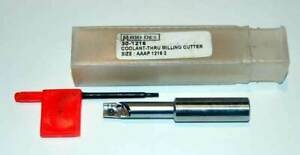 Micro 100 Micro dex 5 8 X 2 Flt Coolant Apkt Indexable End Mill Cutter