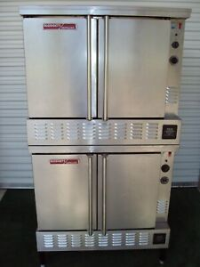 Blodgett Zephaire Gl Gas Double Bakery Commercial Oven Bakery Pizza