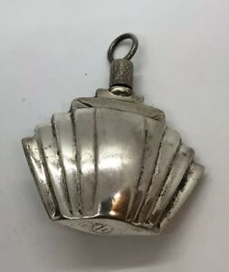 Sterling Silver Art Deco Perfume Bottle And Spoon Final Price