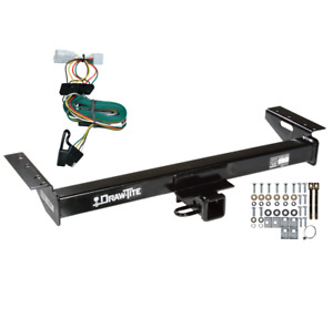 Trailer Tow Hitch For 97 01 Jeep Cherokee W Wiring Harness Kit