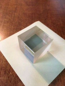 25mm Vis Non polarizing Cube Beamsplitter Bk7