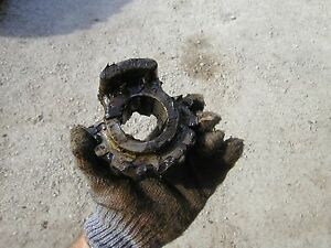Oliver 70 Rc Tractor Original Front Steering Shaft Steering Sector Gear