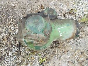 Oliver 77 Rowcrop Tractor Belt Pulley Drive Assembly