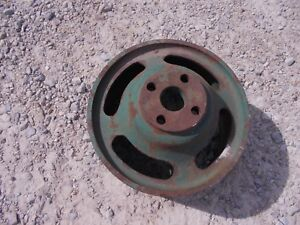 Oliver 77 88 Row Crop Tractor Original Steel Flat Belt Pulley K691a Ol