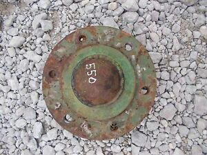 Oliver 550 Tractor Front Wheel Hub Center Cover Cap
